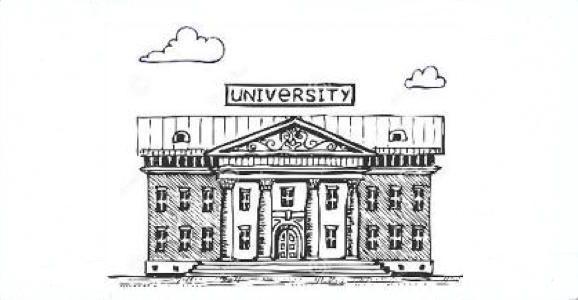 في حرم الجامعة