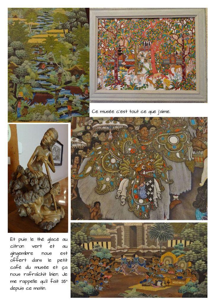 Musée Puri Lukisan à Ubud