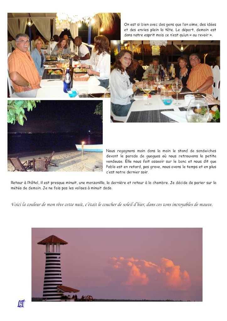 Bayahibe, Saona 2010, carnet de voyage