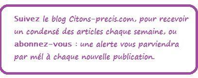 Les trois citations mystères sur facebook : leurs auteurs...