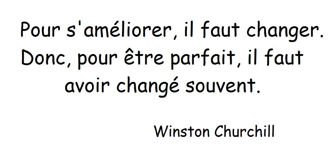 Les répliques de Churchill
