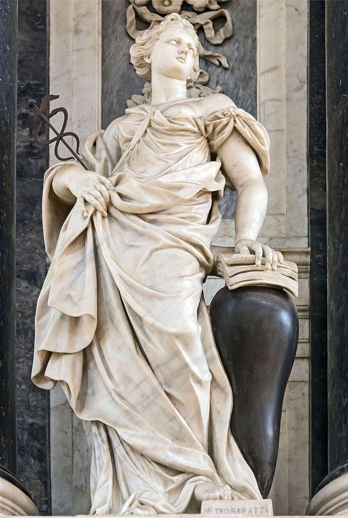 La Sagesse, par Pietro Baratta, Eglise Saint Jean et Saint Paul, Venise, auteur du cliché : Didier Descouens, Wikipédia CC