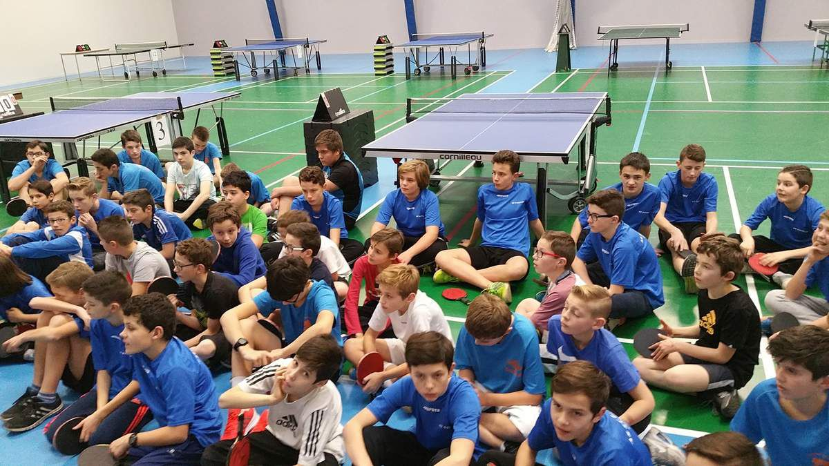 Album- Tennis de table secteur 2016-2017