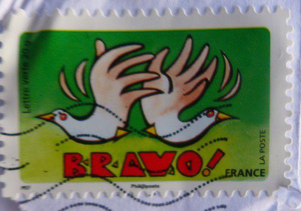 De jolies cartes de voeux dans ma boite aux lettres (3/3)...