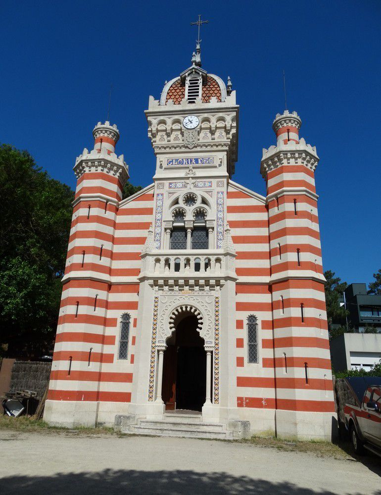 Les beautés de la chapelle Algérienne...