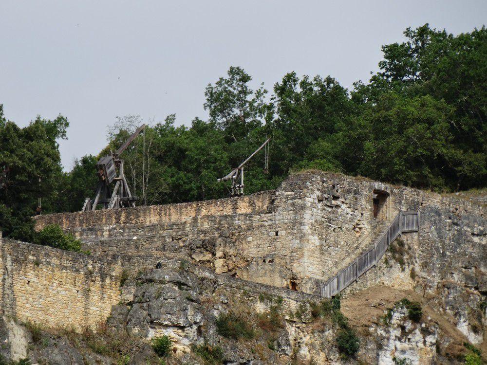 Le château de Castelnaud...