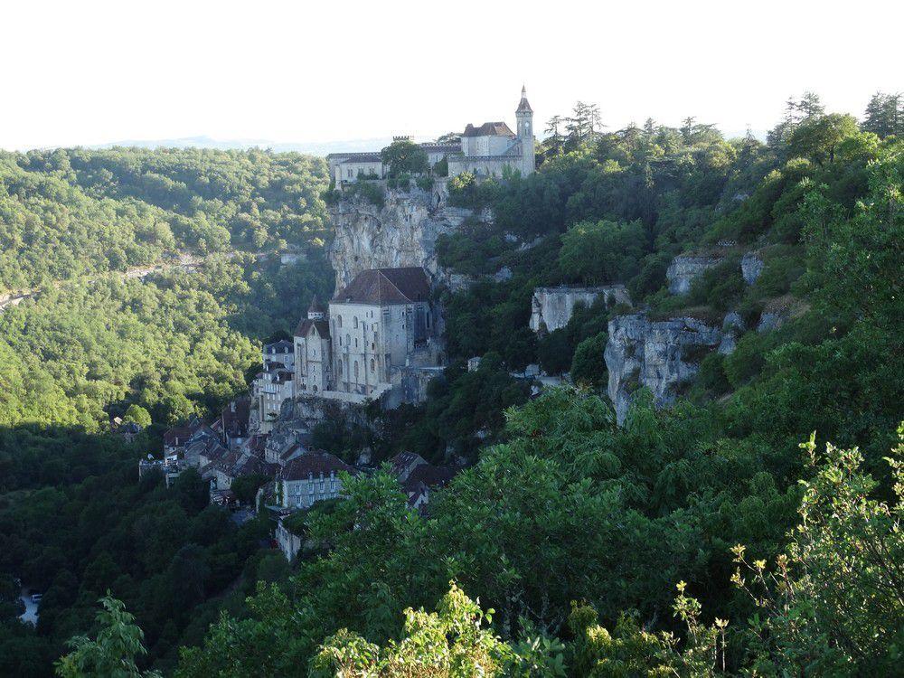 Rocamadour, cité médiévale haut perchée...