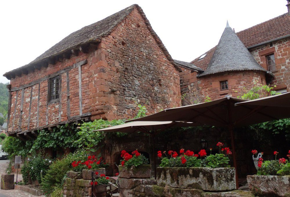 Escale à Collonges-la-Rouge...