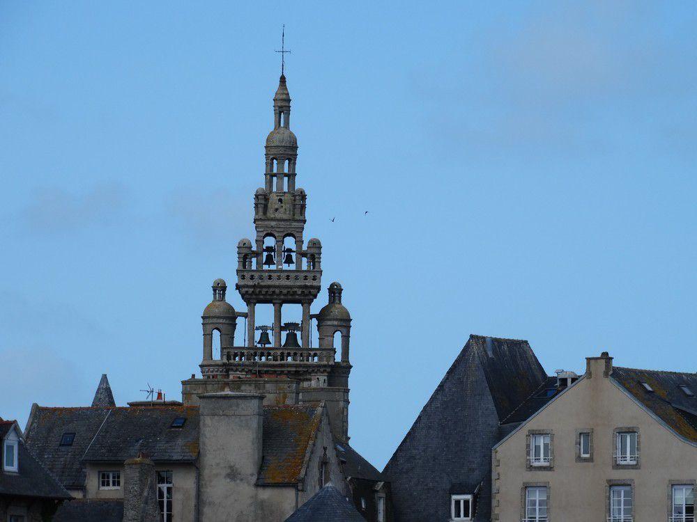 L'église Notre-Dame de Croaz-Batz à Roscoff...