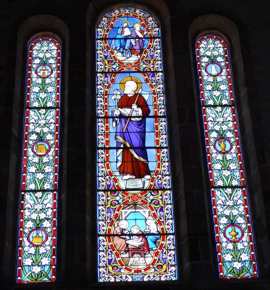 L'église de l'île de Batz...