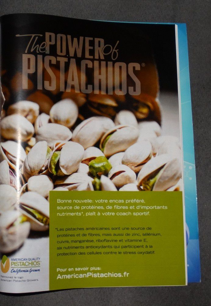 Connaissiez vous &quot&#x3B;the power of pistachios&quot&#x3B; ?
