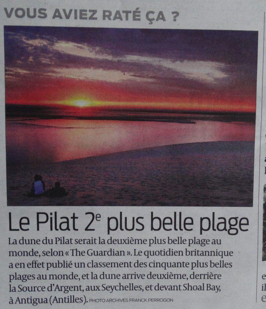 La Dune du Pyla, 2ème plus belle plage du monde...