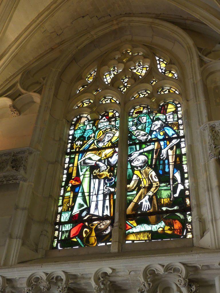Le château Royal d'Amboise : la Chapelle Saint-Hubert...