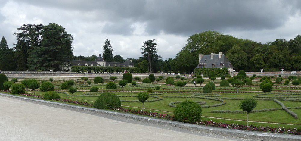 les jardins du ch teau de chenonceau le blog de ecureuilbleu. Black Bedroom Furniture Sets. Home Design Ideas