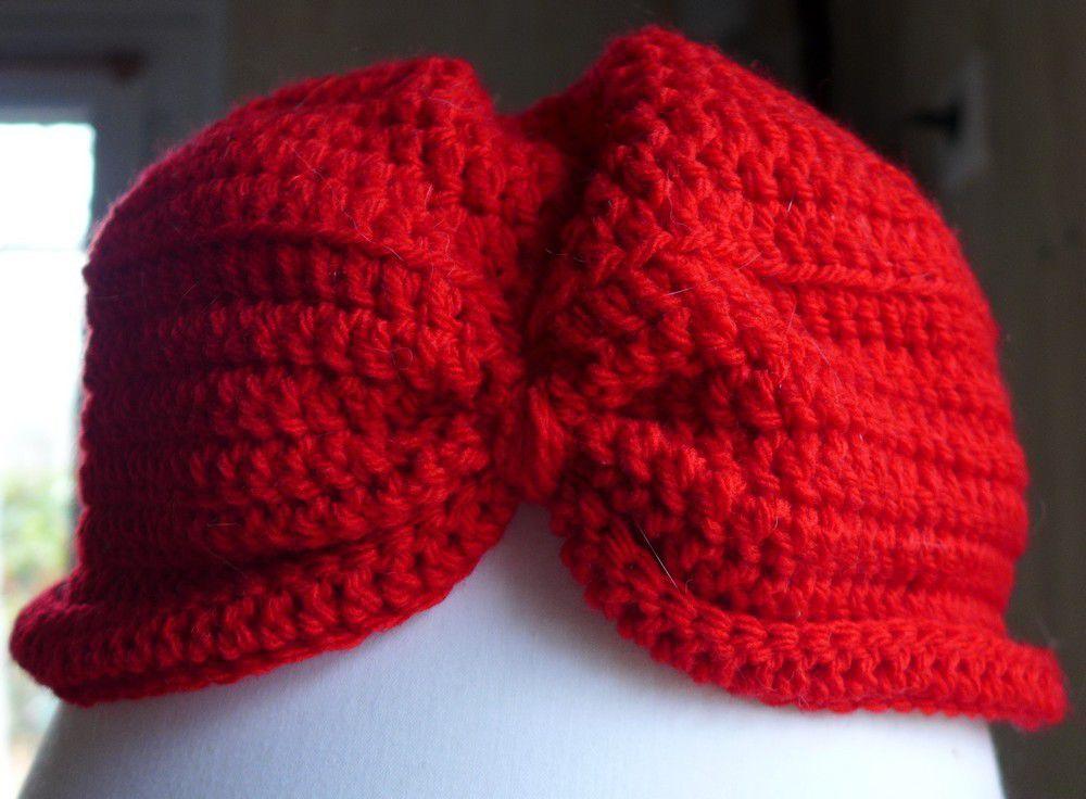 Deux bonnets, pour Alice et Alban...