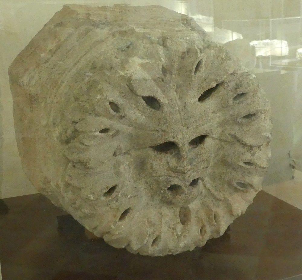 Le musée lapidaire de l'abbaye de La Sauve Majeure...
