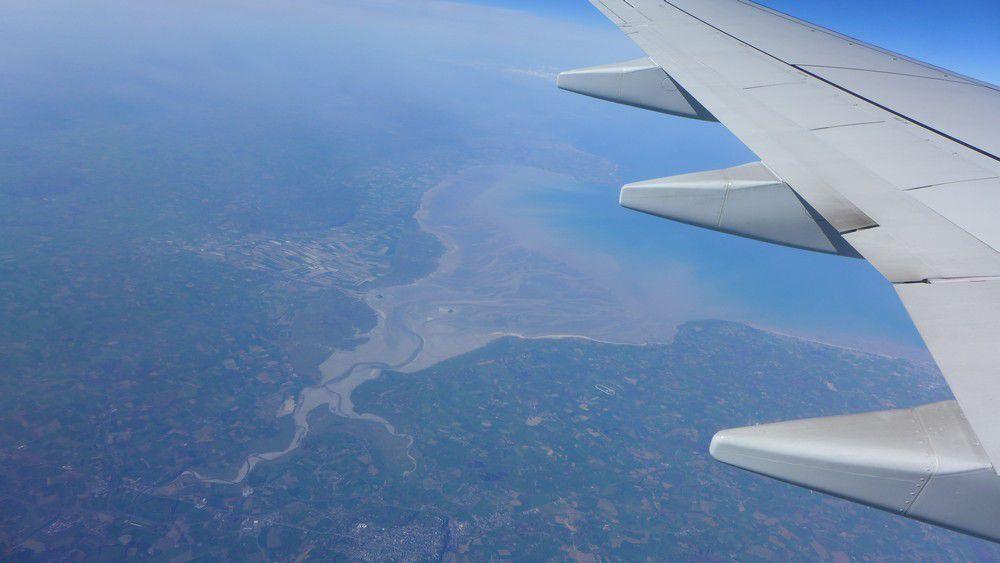 Un merveilleux voyage en avion : Bordeaux-Edimbourg (1/2)...