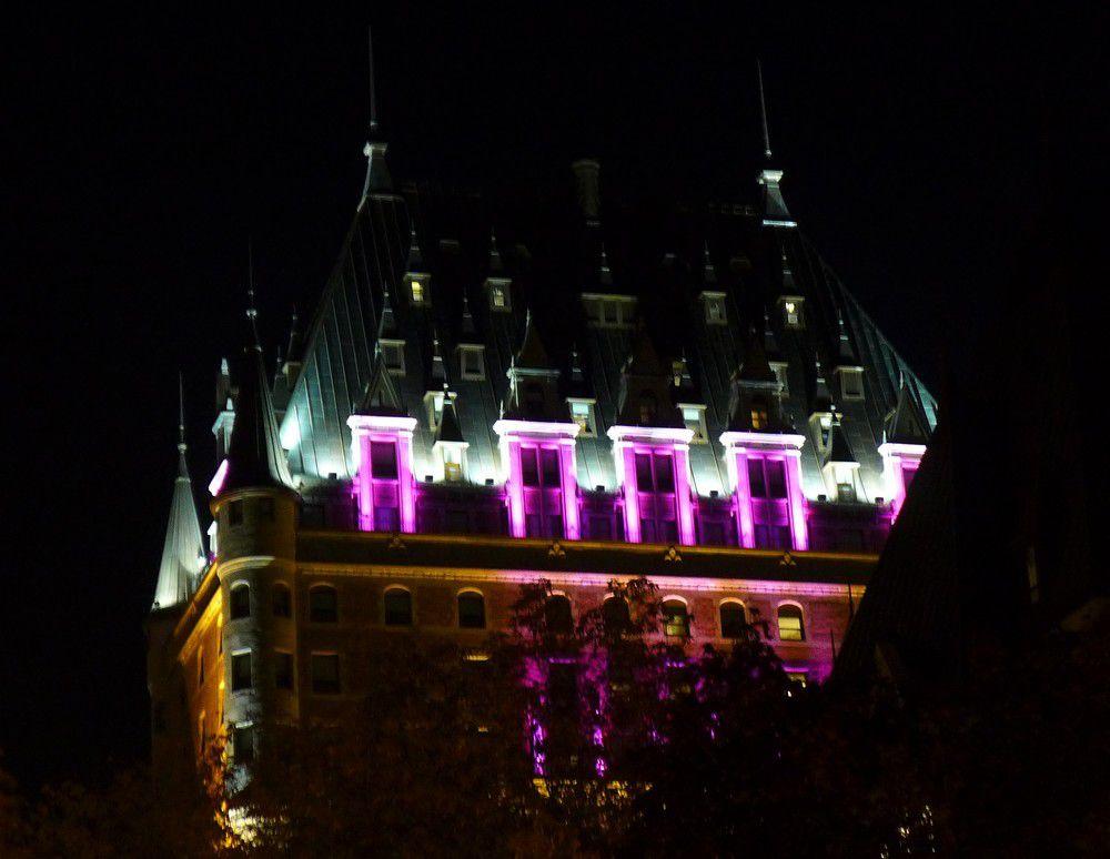 Le Vieux-Québec : vues de nuit...