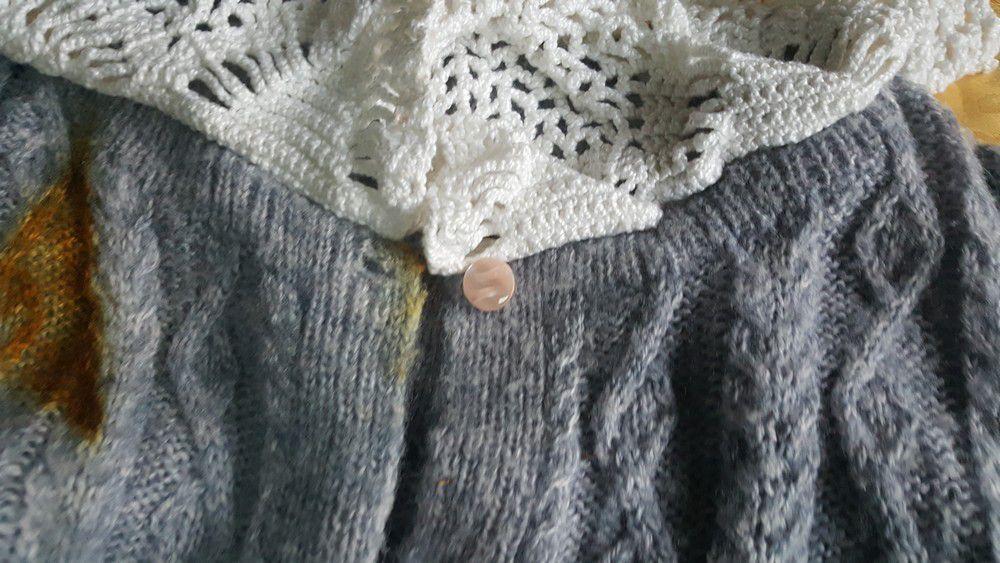 La petite histoire de ma belle veste rose...