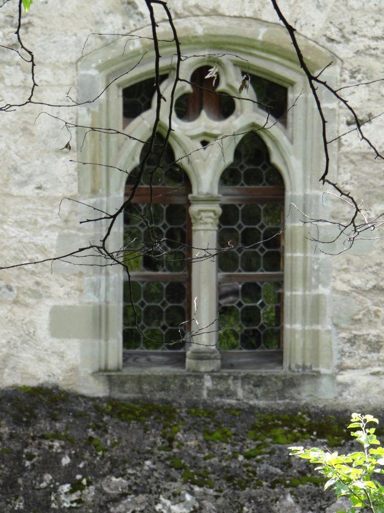 Le château de Chillon, au bord du Lac Léman...