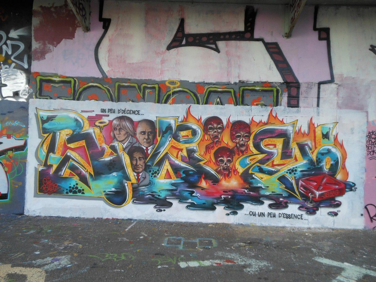 Street Art : Graffiti 22