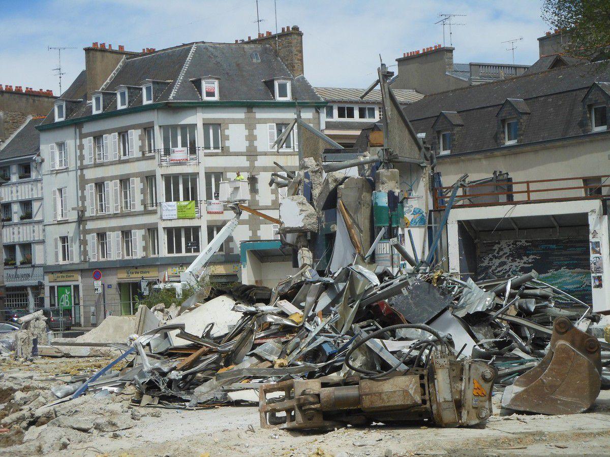 La démolition des Halles - Photos -