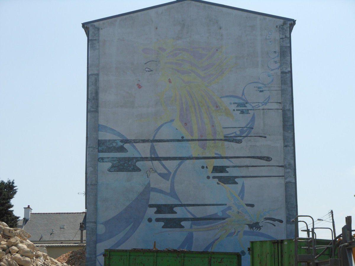 Cité Waron : Démolition d'un immeuble