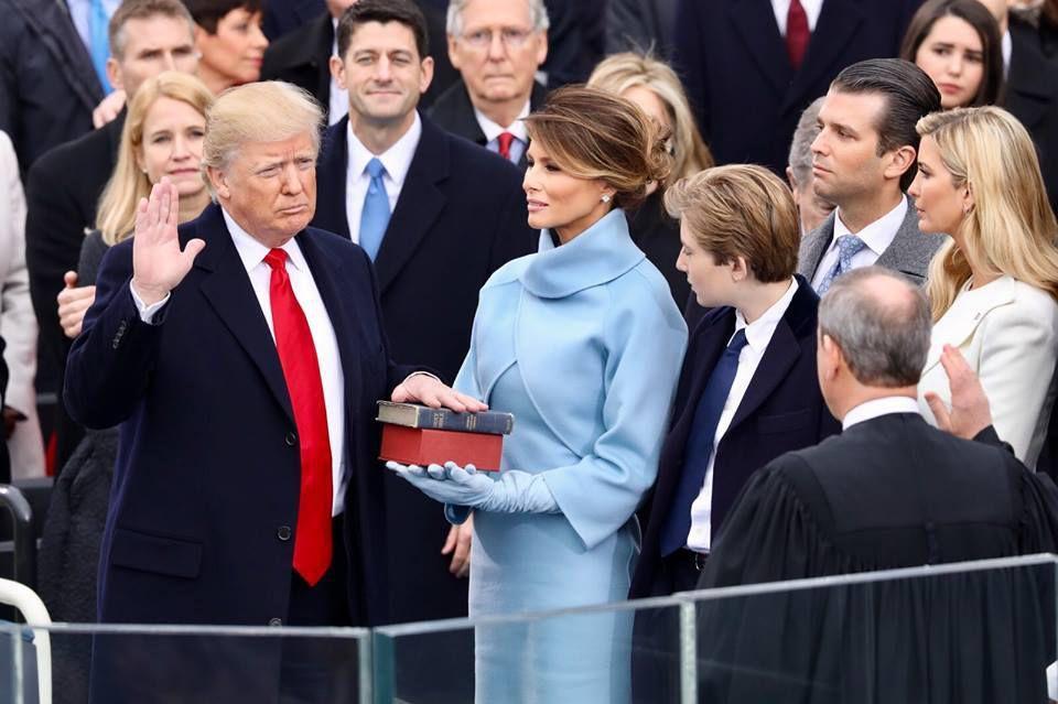 Donald Trump, journée d'investiture