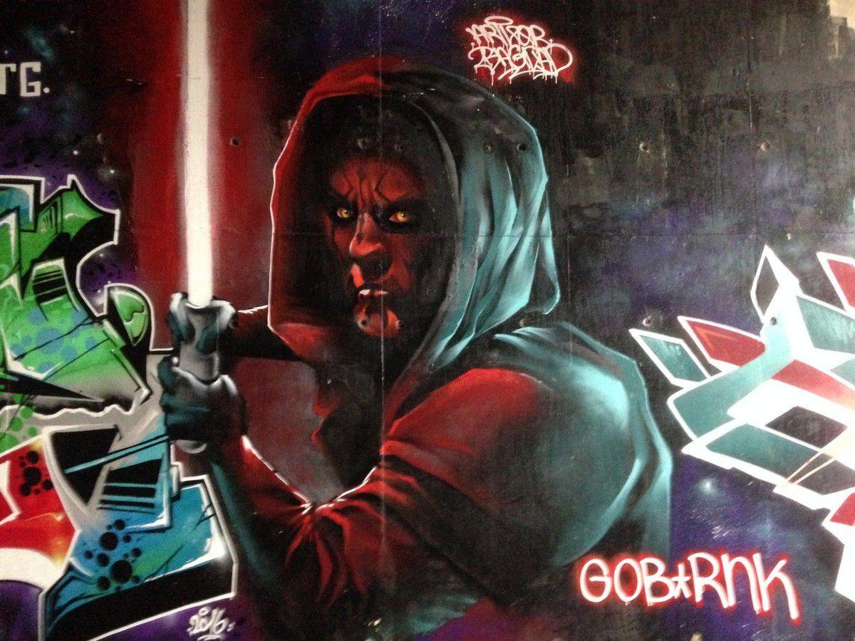 Street Art : Graffitis 22 - Star Wars
