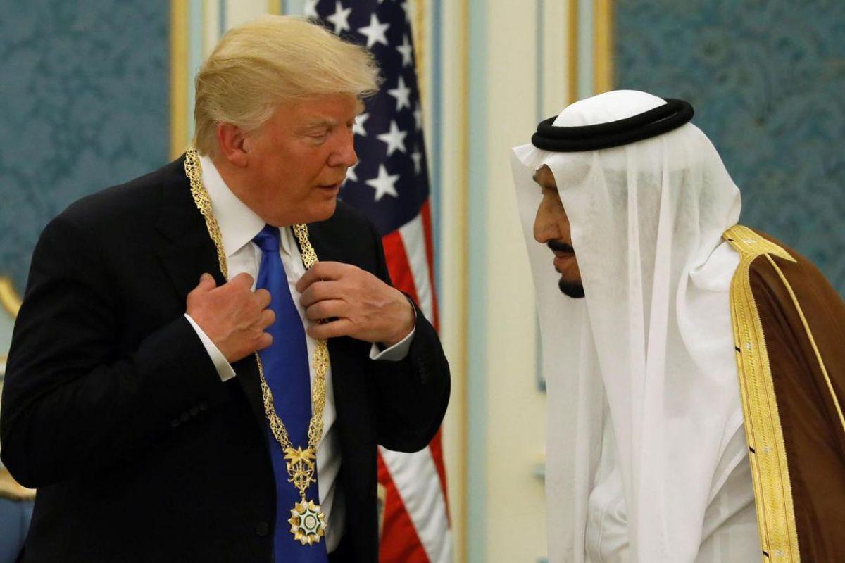 Donald Trump en Arabie Saoudite