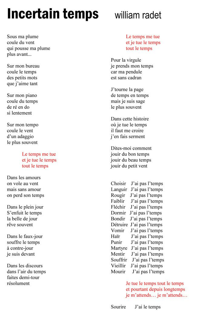 5.  PAROLES... pour SLAMEURS