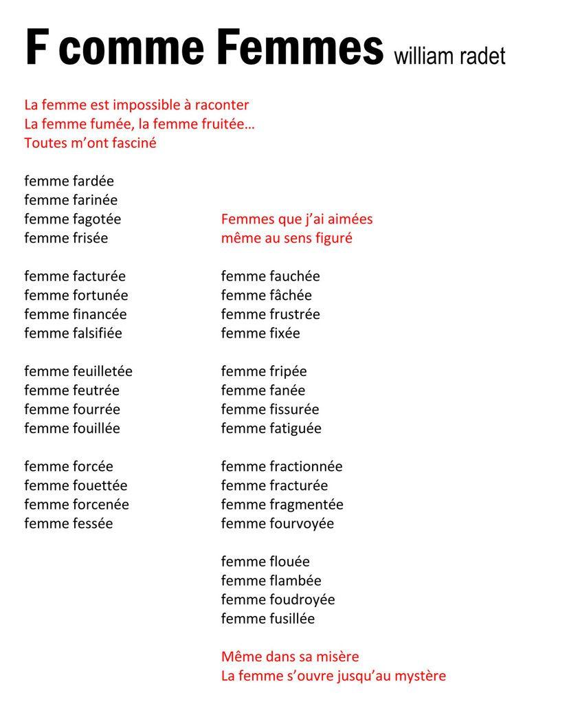5.   PAROLES...  pour Musiques INSOLITES