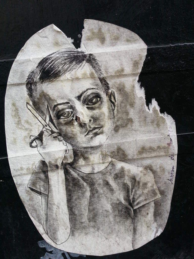 STREET ART...  déchirements  (25 vues)