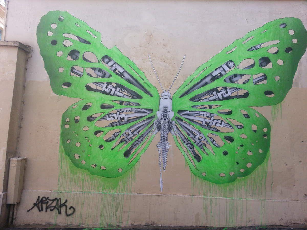 STREET ART... au papier collé 1   (43 vues)