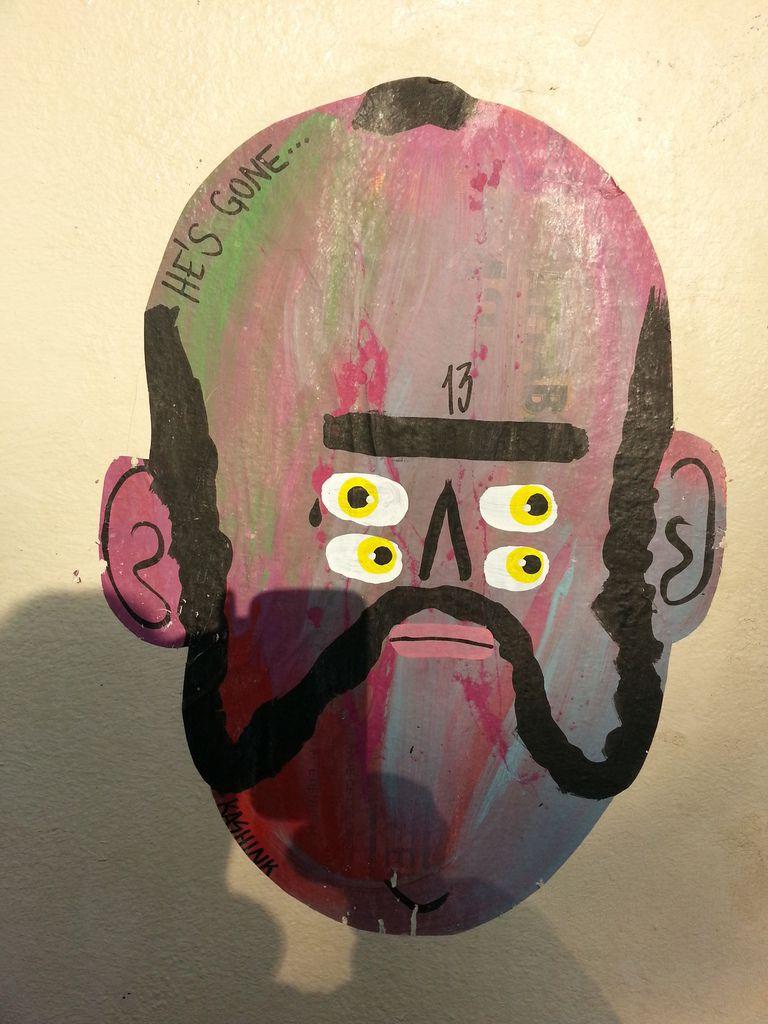 STREET ART...  à la bombe   (54 vues)