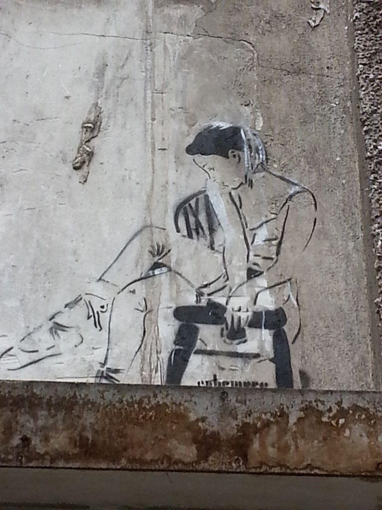 STREET ART... au papier collé 2   (26 vues)