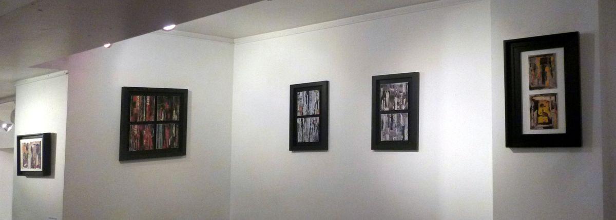 Ghislaine Lejard et la poésie du collage