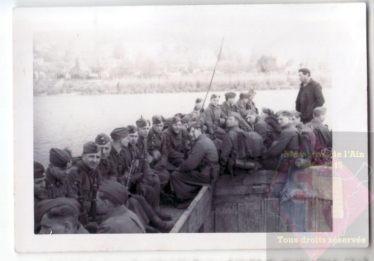 les troupes allemandes dans le Midi 1940 - 1944