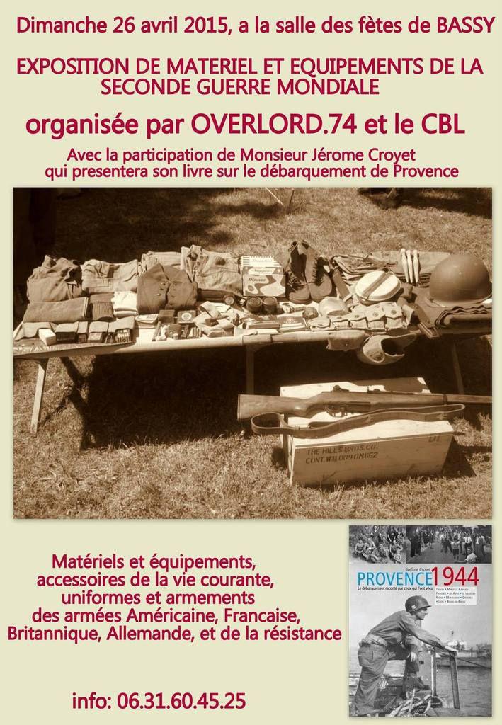 exposition sur la Seconde Guerre à Bassy 74
