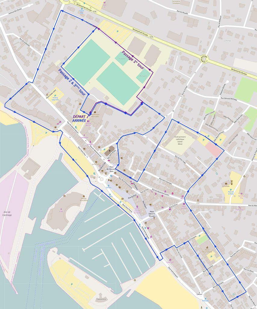 circuit du 10 Km