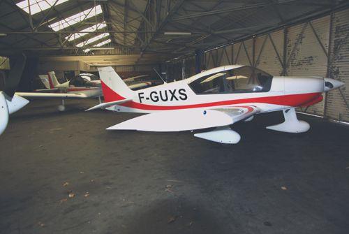 L'actualité de l'Aéroclub, durant la trêve hivernale, est la rénovation de deux des trois Robin HR-200.