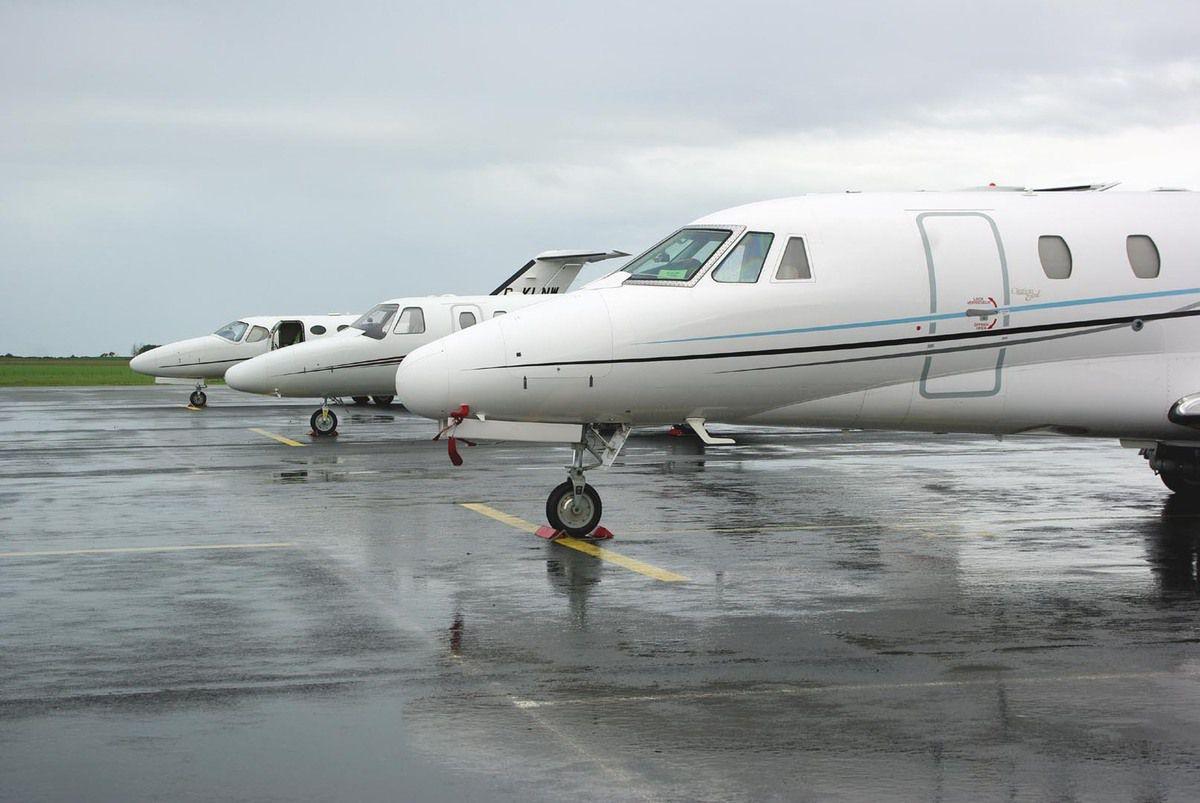 """Pas de """"citations"""" présidentielle, mais de chez Cessna, il y en avait plusieurs."""