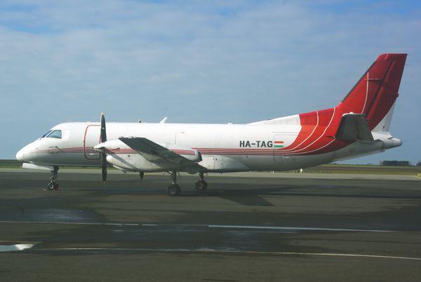 Le Saab SF-340 HA-TAG.
