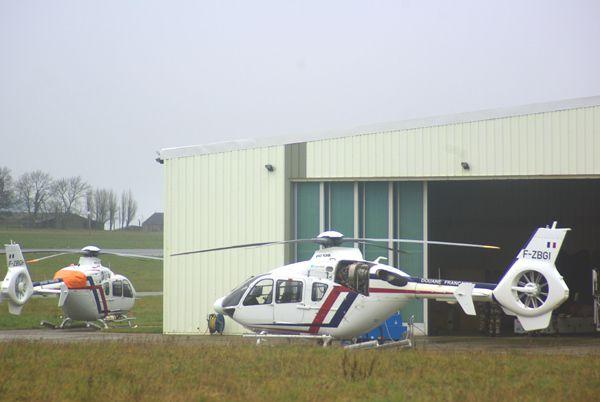 L'Eurocopter EC-135 F-ZBGI des Douanes. C'est le dernier qui nous manquait, des cinq de la flotte.