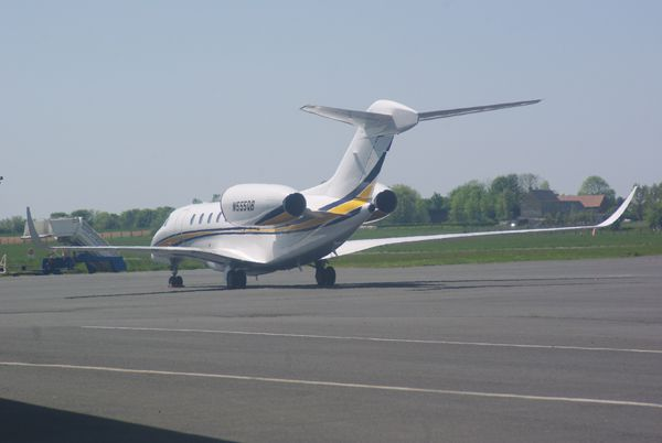 Le Cessna 750 Citation X N999QB.