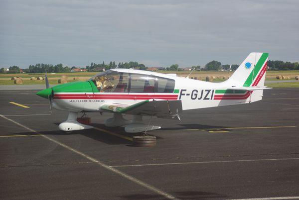 Le Robin DR-400 F-GJZI.