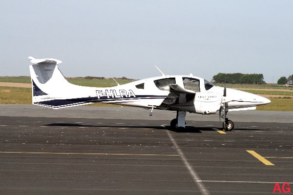 Première fois que l'on observe un Diamond DA-62, ici le F-HLRA.