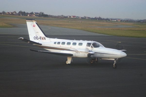 Le Cessna 441 Conquest OE-FAN