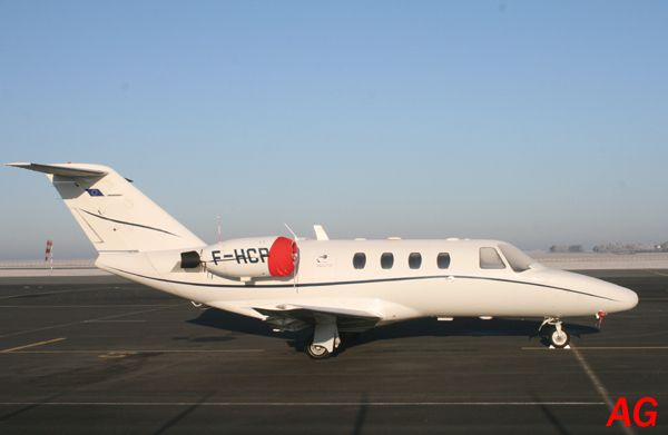 Le Cessna Citation F-HCPB