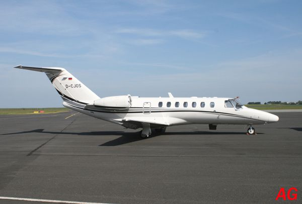 Le Cessna Citation CJ3 D-CJOS.